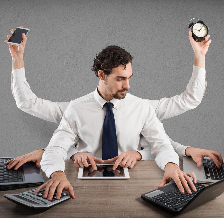 Combatir el estrés en un entorno multitasking