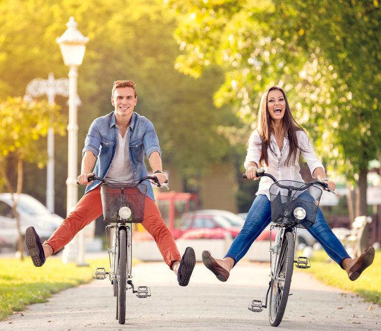 Con dos ruedas hacia la felicidad