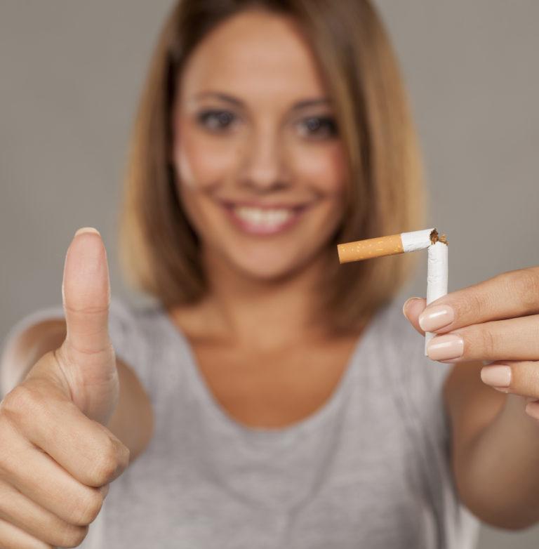 Deja de fumar y despídete del desánimo