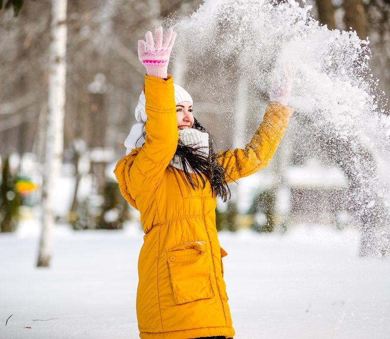 Razones para estar feliz en invierno