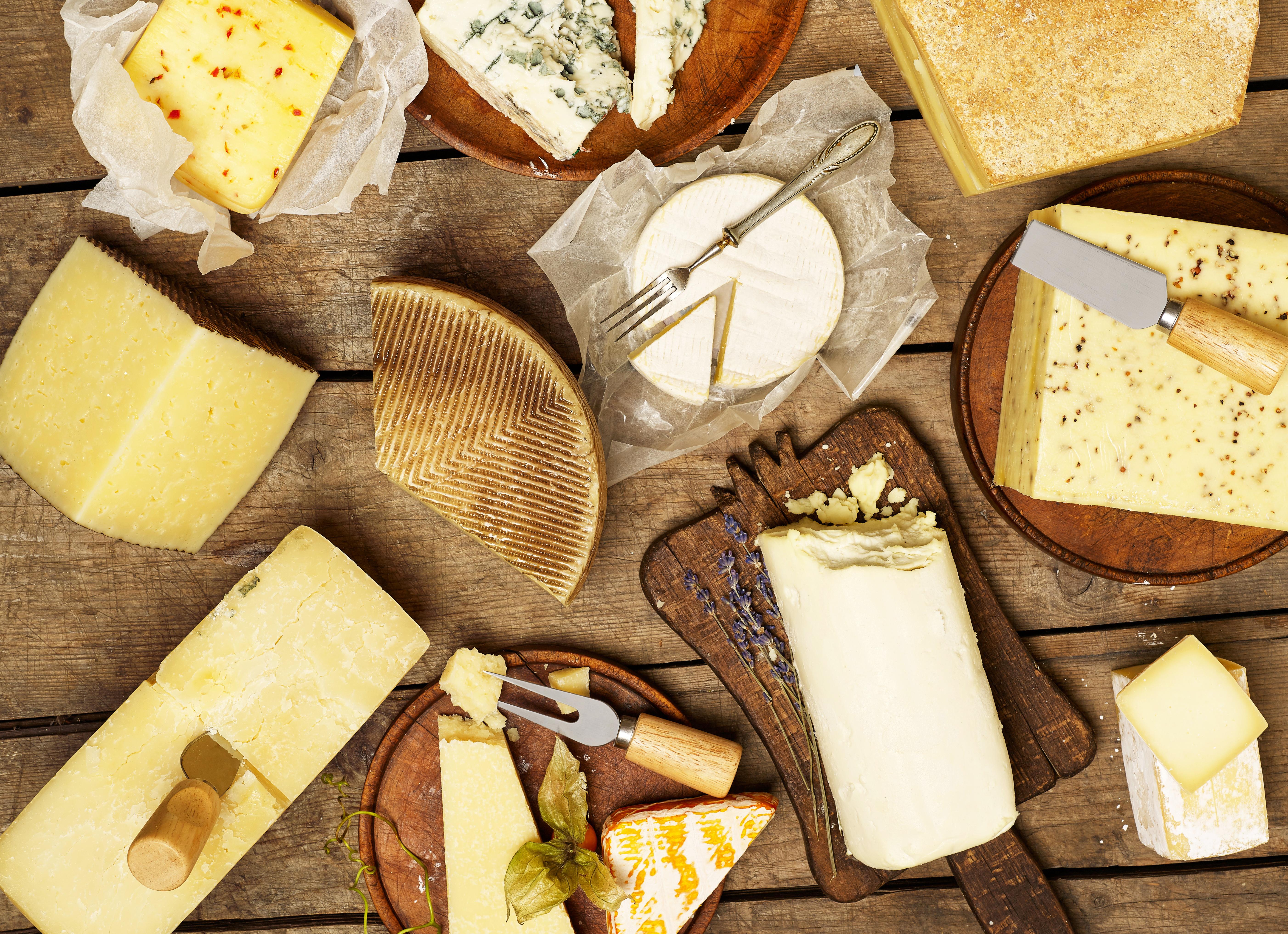 Alimentos ricos en triptófano: El queso